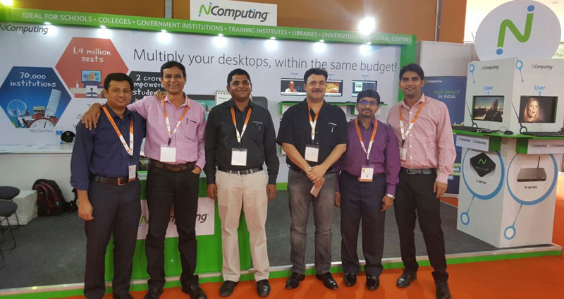 NComputing at World Didac India 2015