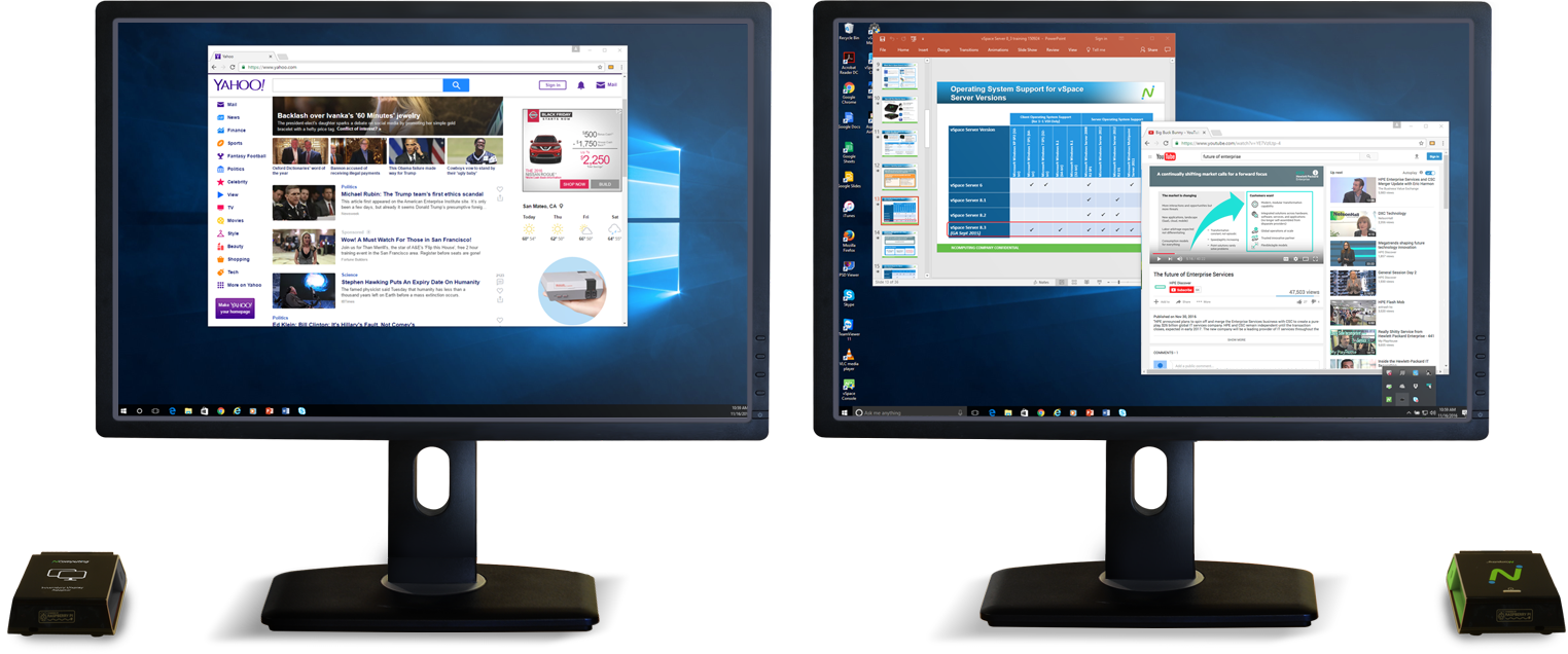 Dual Monitor Capability