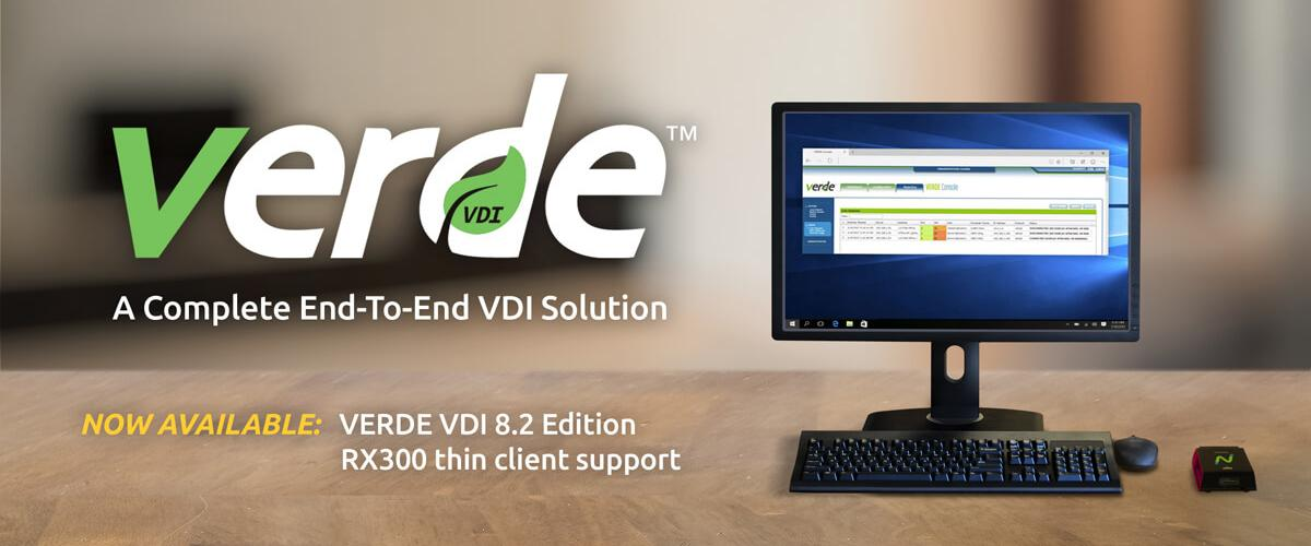 VERDE VDI 8.2 with support for RX300