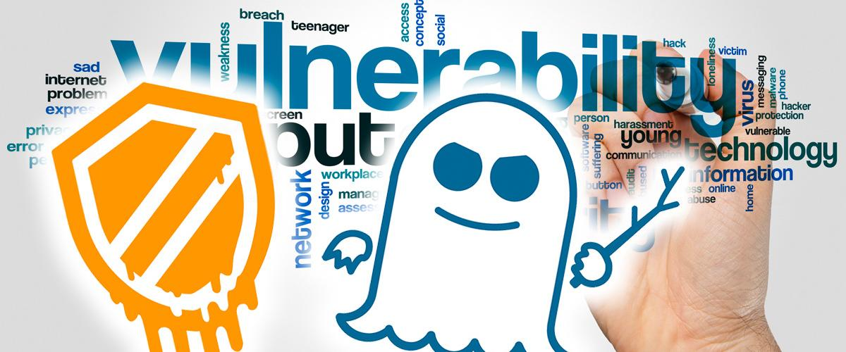 Meltdown and Specter vulnerabilities
