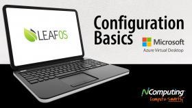 LEAF OS Configuration Basics for AVD