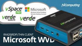Access Microsoft Windows Virtual Desktop (WVD) from RX420(RDP)