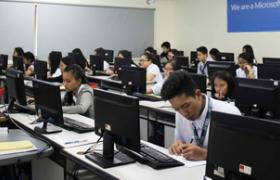 Asia Pacific College computer lab