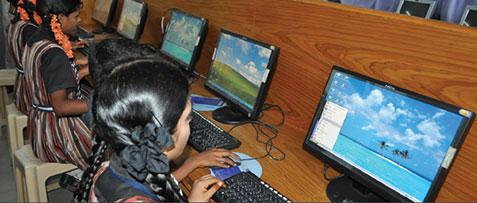 THOUSANDS OF UNDERPRIVILEGED CHILDREN IN ANDHRA PRADESH, INDIA, GET ACCESS TO MODERN EDUCATION