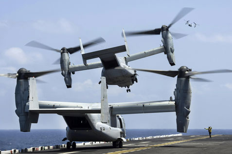 MV-22B Ospreys