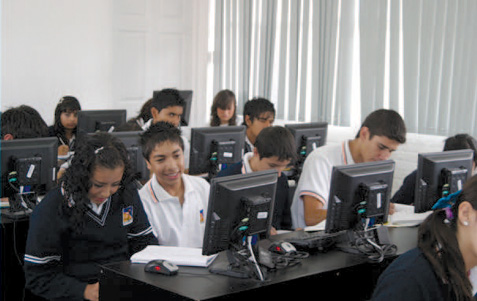 Students can now use computers for classwork in the school's computer lab