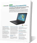 CX-series Chromebook CX110 datasheet